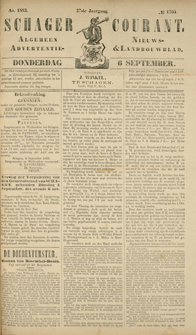 Schager Courant 1883-09-06