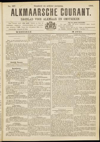 Alkmaarsche Courant 1906-07-18