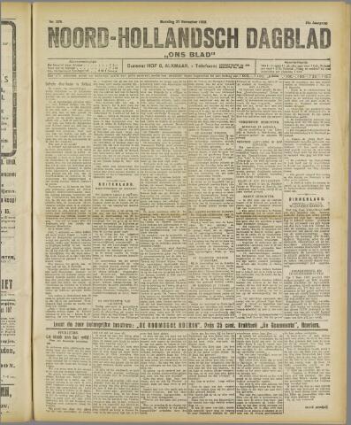 Ons Blad : katholiek nieuwsblad voor N-H 1922-11-27