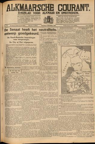 Alkmaarsche Courant 1939-11-04