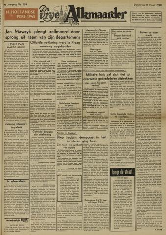 De Vrije Alkmaarder 1948-03-11
