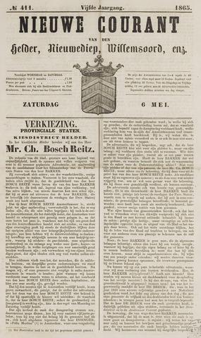 Nieuwe Courant van Den Helder 1865-05-06
