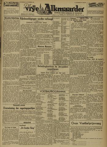 De Vrije Alkmaarder 1946-11-21