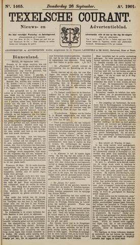 Texelsche Courant 1901-09-26
