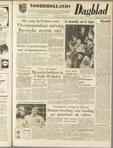 Noordhollands Dagblad : dagblad voor Alkmaar en omgeving 1962-08-22