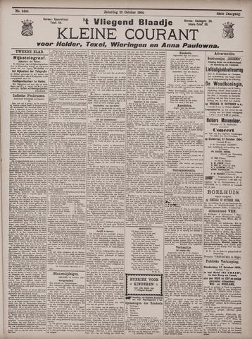 Vliegend blaadje : nieuws- en advertentiebode voor Den Helder 1904-10-22