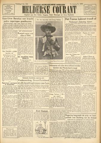 Heldersche Courant 1949-10-06