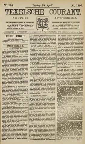 Texelsche Courant 1896-04-19