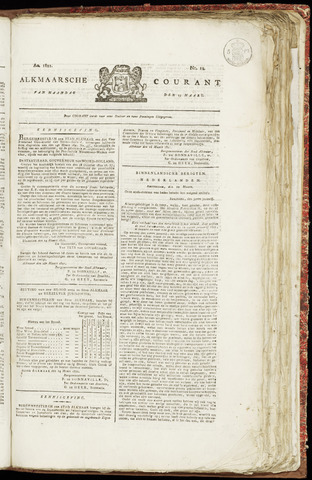 Alkmaarsche Courant 1821-03-19