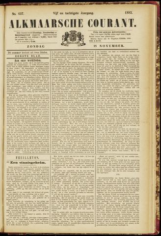 Alkmaarsche Courant 1883-11-18