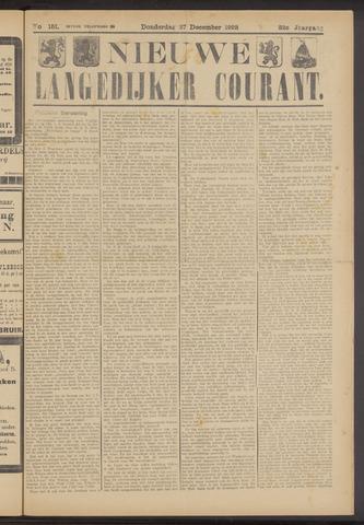 Nieuwe Langedijker Courant 1923-12-27