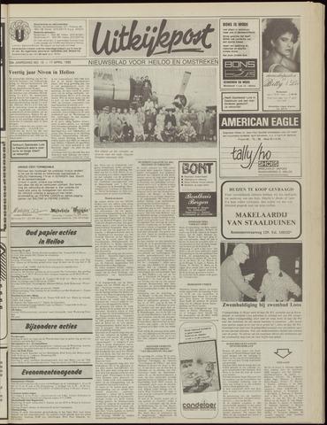 Uitkijkpost : nieuwsblad voor Heiloo e.o. 1985-04-17