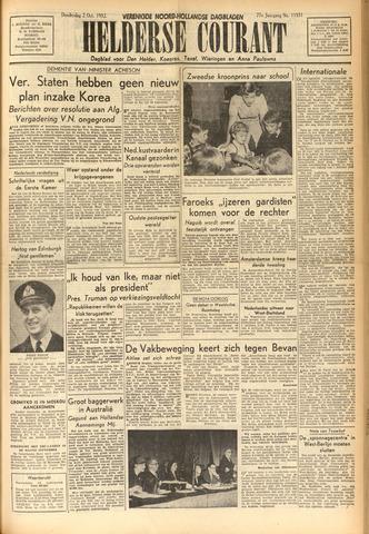 Heldersche Courant 1952-10-02