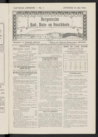 Bergensche bad-, duin- en boschbode 1924-07-19