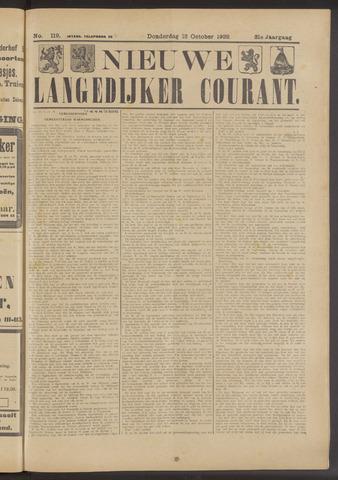 Nieuwe Langedijker Courant 1922-10-12