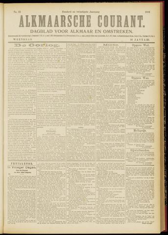 Alkmaarsche Courant 1918-01-16