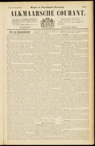 Alkmaarsche Courant 1897-01-17