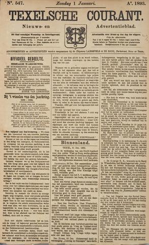Texelsche Courant 1893