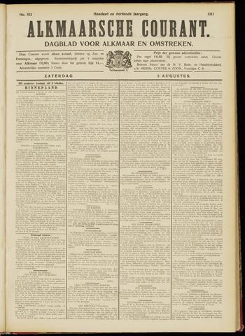 Alkmaarsche Courant 1911-08-05