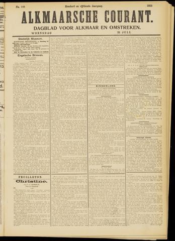 Alkmaarsche Courant 1913-07-23
