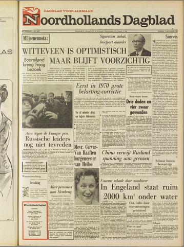 Noordhollands Dagblad : dagblad voor Alkmaar en omgeving 1968-09-17
