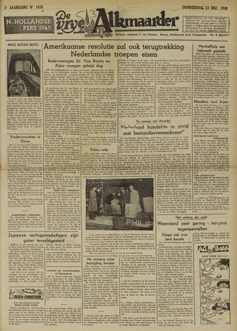 De Vrije Alkmaarder 1948-12-23