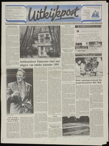 Uitkijkpost : nieuwsblad voor Heiloo e.o. 1994-09-14