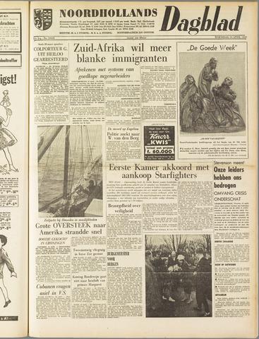 Noordhollands Dagblad : dagblad voor Alkmaar en omgeving 1960-04-13