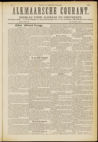 Alkmaarsche Courant 1916-01-10