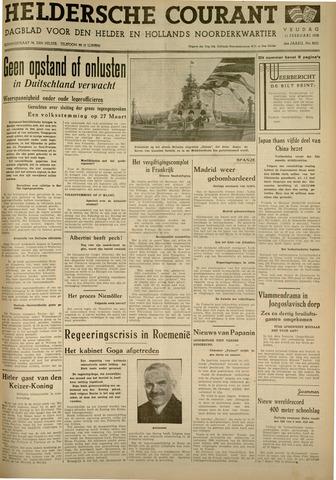 Heldersche Courant 1938-02-11