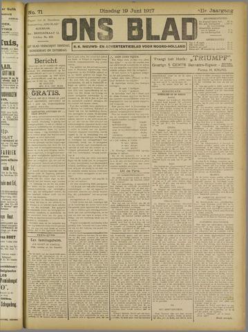 Ons Blad : katholiek nieuwsblad voor N-H 1917-06-19