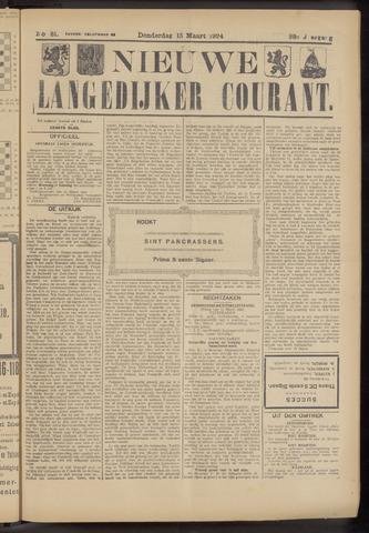 Nieuwe Langedijker Courant 1924-03-13
