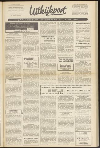 Uitkijkpost : nieuwsblad voor Heiloo e.o. 1963-02-07