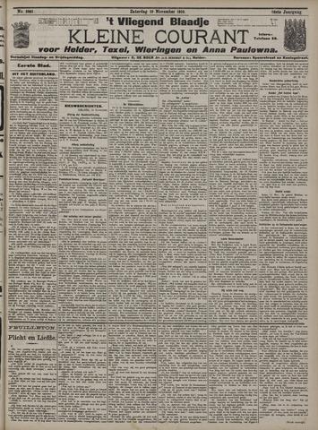 Vliegend blaadje : nieuws- en advertentiebode voor Den Helder 1910-11-19
