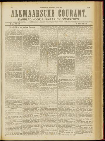Alkmaarsche Courant 1918-10-07