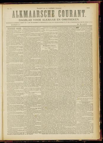 Alkmaarsche Courant 1919-03-25