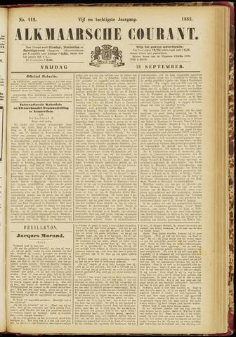 Alkmaarsche Courant 1883-09-21