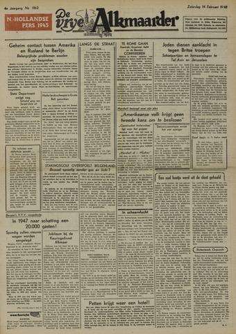 De Vrije Alkmaarder 1948-02-14
