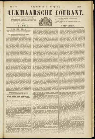 Alkmaarsche Courant 1888-09-09