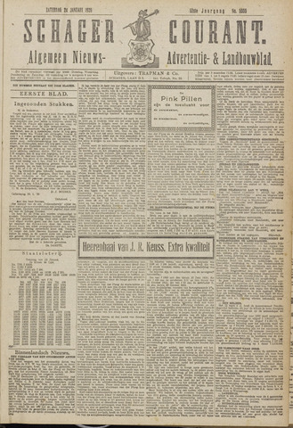 Schager Courant 1920-01-24