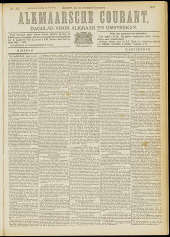 Alkmaarsche Courant 1919-09-23