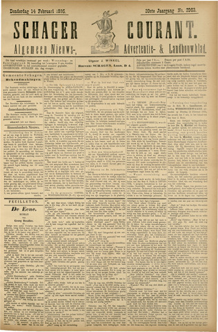 Schager Courant 1895-02-14