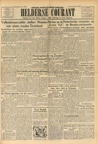 Heldersche Courant 1950-10-23