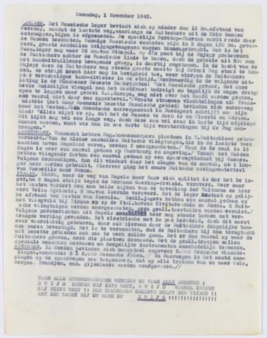 De Vrije Alkmaarder 1943-11-01