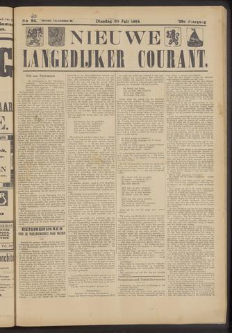 Nieuwe Langedijker Courant 1924-07-22