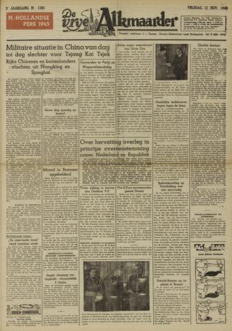 De Vrije Alkmaarder 1948-11-12