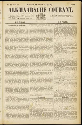 Alkmaarsche Courant 1899-04-09