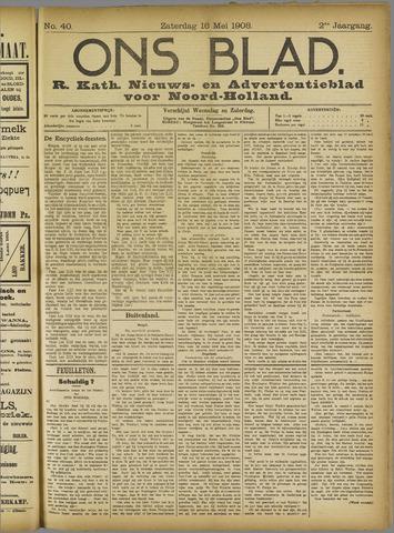 Ons Blad : katholiek nieuwsblad voor N-H 1908-05-16