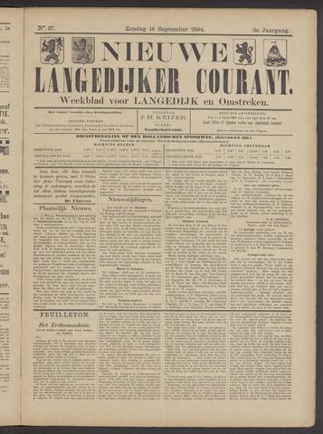 Nieuwe Langedijker Courant 1894-09-16