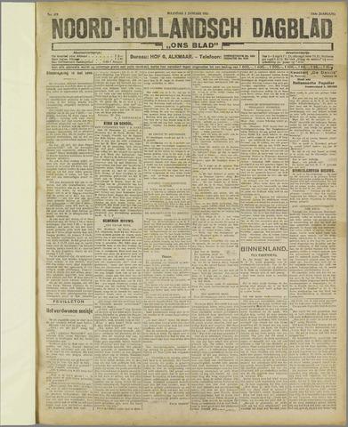 Ons Blad : katholiek nieuwsblad voor N-H 1922-01-02